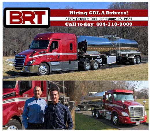 BRT   Trucking Jobs