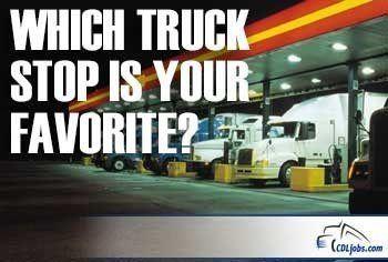 Best Truck Stops | CDLjobs.com