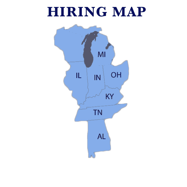 Hill Transportation hiring area