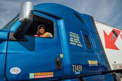 female truck driver safety | photo courtesy TDI