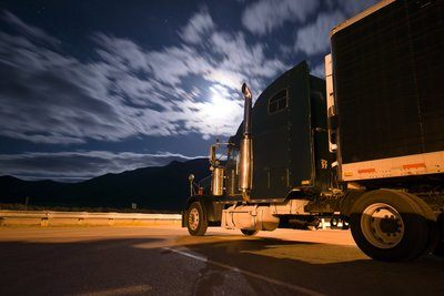 truck driver night vision