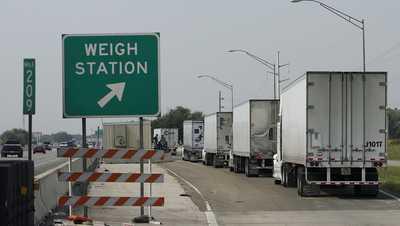 truck weigh station